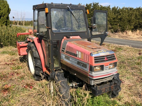 買い取りさせていただきました!三菱 トラクター MT25