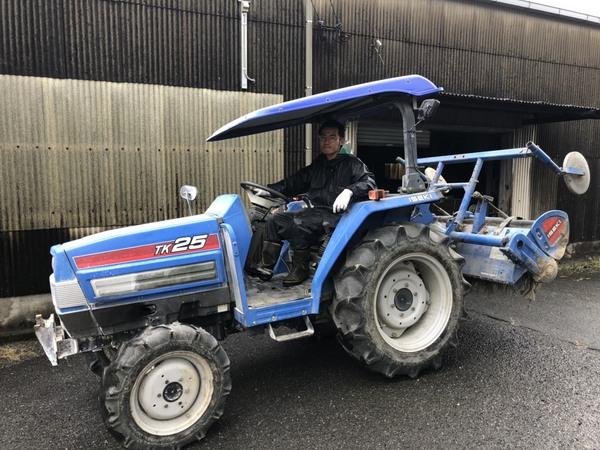 2019年 6月27日 イセキ トラクター 4WD TK25 買い取り致しました!!のサムネイル