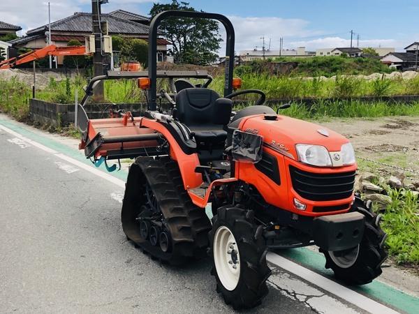 2019年 6月27日 クボタ トラクター JB13X パワクロ&カルチ 買取させて頂きました👏!!