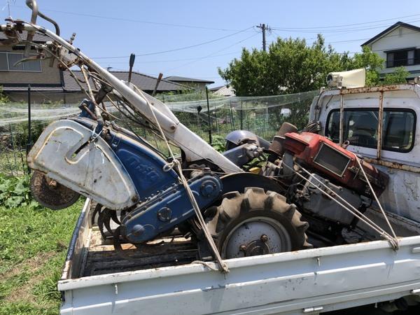 2019年6月17日 買い取りさせて頂きました クボタ KME ディーゼル耕耘機