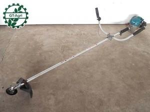 Bh1172 MAKITA MEM233 肩掛式草刈機 動画有 23.1cc 楽らくスタート 両手ハンドル採用・