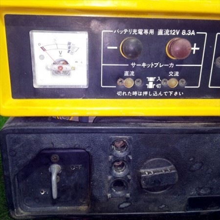 B3g20118 SUZUKI スズキ SX650R ポータブル発電機 【60Hz 100V 650va】【整備品/動画あり】*