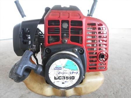 Bh3677 ZENOAH ゼノア KOMATSU コマツ BC3510EZ EZスタート 両手ハンドル仕様 33.6cc 肩掛式草刈機 整備済み 動