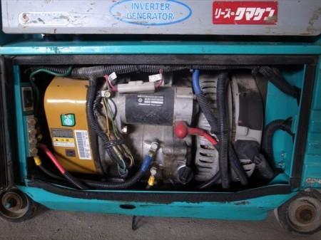 B2e3737 DENYO デンヨー GAW180ES2 超低騒音型エンジンウエルダー 溶接機 発電機 アワーメーター:538h チェック済み 整備済