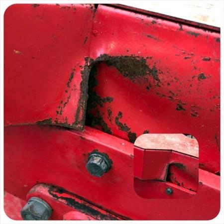 Dg20257 NIPLO ニプロ S-27A 振動サブソイラー ■トップリンク付き■ 弾丸 暗渠 トラクター用アタッチメント*