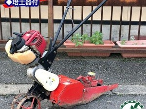 Ag20254 岡山農栄社 IRINO イリノ HC25XA 管理機 はたかん 小型条間作業機 ■培土器付き■*