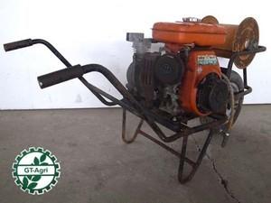 B6e3756 トウカイポンプ PCE-10 エンジン式エアコンプレッサー クボタGS120-2G エンジン 最大3.0馬力 動画有 整備済み