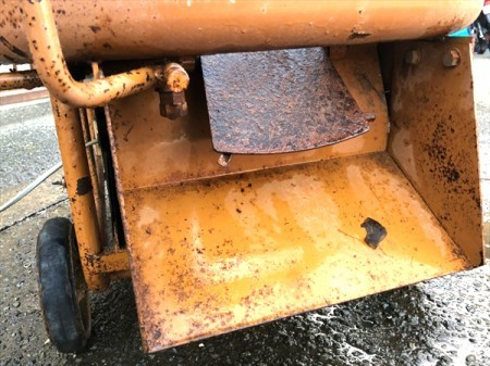 Ce4513 MEIHO メイホー MM-3.5T モルタルミキサー コンクリートミキサー■100V■撹拌機 かくはん機【通電確認済み】
