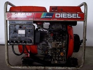B3e3809 YANMAR ヤンマー YDG3.8T ディーゼルエンジン発電機 ヤンマーL60エンジン 60Hz専用 動画有 整備済み