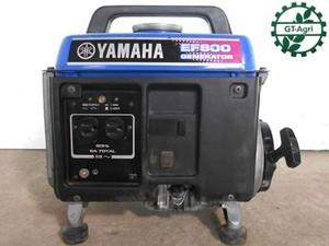 B6h3813 YAMAHA ヤマハ EF800 ポータブル発電機 60Hz 800VA タンク内キレイ 整備済み 動画有