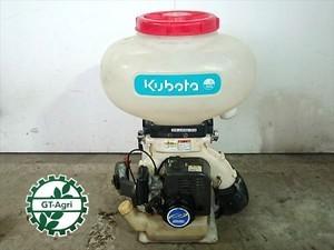 A12e4641 KUBOTA クボタ DKJ41G-23 背負式散布機 1キロ剤対応 動力散布機 2サイクル ■消毒 ブロワー■ 【整備品/動画あり