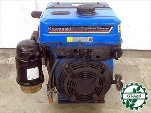A16e4654 KAWASAHI カワサキ FE250G ガソリンエンジン 最大8.8馬力 発動機【整備品/動画あり】