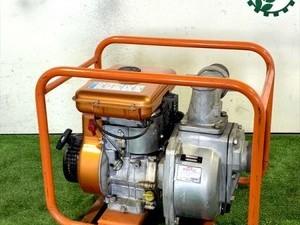 B6g20524 イセキカワサキサービス PE-80X IKSエンジンポンプ 口径:80mm 3.8馬力【整備品/動画あり】*