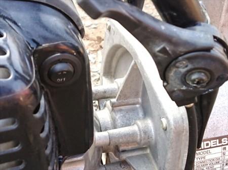 A17e4760 KOSHIN 工進 KR-25F ハイデルスポンプ ガソリンエンジンポンプ 口径:25mm 1.1馬力【整備品/動画あり】