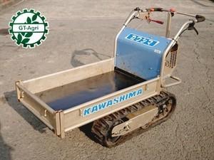 De4828 KAWASHIMA 河島農具製作所 カワシマ EC80 クローラー式運搬車 最大200kg 3馬力【整備品/動画あり】