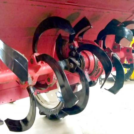 Dg21518 ヤンマー UP-2 乗用管理機 12馬力 ウルトラポチ ■爪&ロータリーシール新品■Vクロスロータリー■【整備品】直接引取り限定*