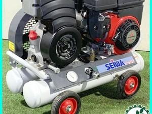 B2g20750 【美品】SEIWA 精和産業 SC-15GMS エアコンプレッサー 4.2馬力 【動作チェック済み】*
