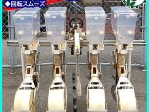 Dg20773 ISEKI イセキ 施肥播種機 ロボシーダ 4条 肥料散布機 トラクター用アタッチメント 4連*