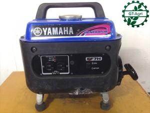 B2e5005 YAMAHA ヤマハ EF7H ポータブル発電機 【60Hz 100V 710va】【整備品/動画あり】