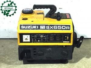 B6g19148 SUZUKI スズキ SX650R ポータブル発電機 ブラシレス【60Hz 100V 650va】【整備品】
