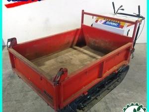 ■販売済み■B4g201266 ウィンブルヤマグチ クローラー式運搬車 ■油圧ダンプ付き■ 最大500kg 6馬力【整備品/動画あり】