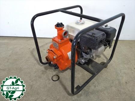 B6g19232 【美品】KPS 加藤ポンプ製造 MKD-401H エンジンポンプ 口径:40mm 3.5馬力【整備品/動画あり】