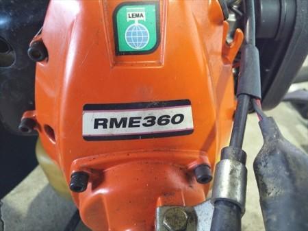 Bg19247 KIORITZ 共立 RME360 背負式刈払い機 34.0cc 2サイクルエンジン ■iスタート■プロ仕様■【整備済み】