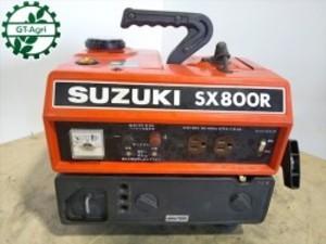 B3g19313 SUZUKI スズキ SX800R ポータブル発電機 【50/60Hz 100V 670/800va】【整備品/動画あり】