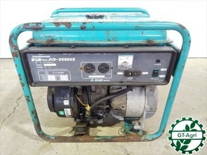 B3g19427 DENYO デンヨー GA-2606U2 発電機 【60Hz 100V 2.6Kva】【整備品/動画あり】
