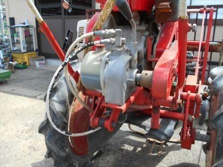 Ah4380 マメトラ農機 BPU-63K 振動式掘取機 油圧式 ミツビシ GM231Lエンジン搭載 最大7馬力 タンク内キレイ【整備済み/動画有】