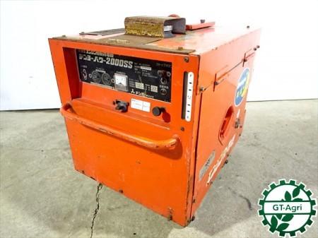 B3g19489 DENYO デンヨー GP-2006SS 発電機 デンヨーパワー 2000SS ■防音型■【60Hz 100V 2Kva】【整備品/