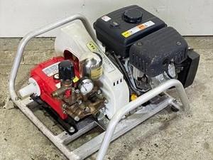 B6g211316 初田工業 YS-302XA セラミック セット動噴 5MPa 4馬力 消毒 スプレー【整備品】アルミフレーム*