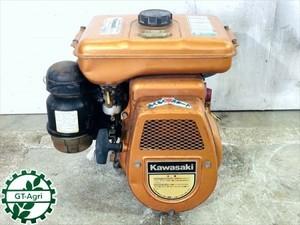 A14g19637 KAWASAKI カワサキ FG200G ガソリンエンジン 最大5馬力 発動機【整備品/動画あり】