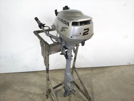 B4g19648 HONDA ホンダ BF2D/BZBF 船外機 4サイクルエンジン 2馬力 【整備品/動画あり】