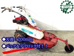 B6g19668 OREC オーレック AM71B オートモア 自走式草刈機 草刈り 7馬力【整備済み/動画あり】
