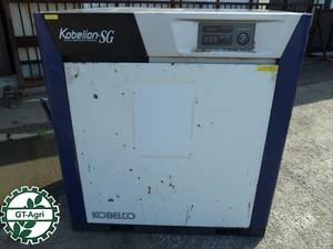 Ae3933 KOBELCO コベルコ SG370AD-6 スクリューコンプレッサー エアコンプレッサー 200・220V 60HZ専用【動画有】