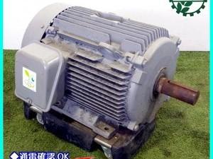 【販売済み】A16g201819 日立産機システム TFO-LKK 4P 7.5kw 三相モートル【50/60Hz 200V】【通電確認済み】