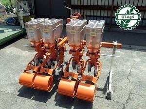 Ae3941 サン機工 さばける号 Super S-800X 8条 施肥播種機 トラクターアタッチメント