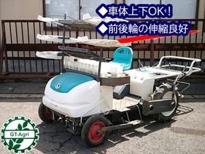 Dg19839 KUBOTA クボタ KP-200 乗用・野菜半自動移植機 ベジライダー【整備品/動画あり】野菜移植機