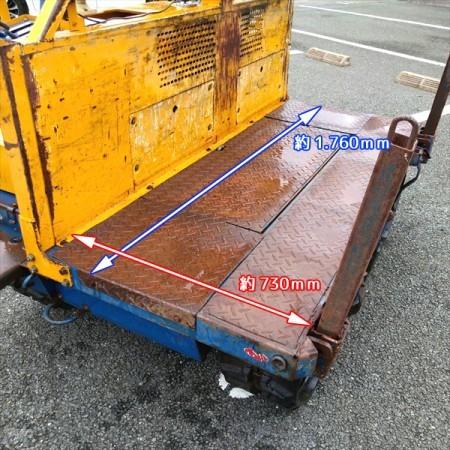 Dg201999 筑水キャニコム BFY914 運搬車 林内作業車 セル付き 最大10馬力 ■直接引き取り限定■ チクスイ*