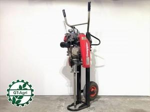 B2g19899 ダガー 空気式土壌改良機 ロビン CB04  2サイクルエンジン【整備済み/動画あり】Dagger エアー式 土壌改良