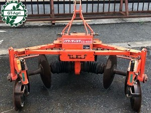 Ah5170 東洋社 日の本 パワーディスク CZ-400 4連 トラクターアタッチメント 農機具部品 トラクターパーツ