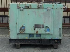 a3002 エアマン PDS 90S ディーゼルエンジンコンプレッサー 防音型 AIRMAN ※ジャンク