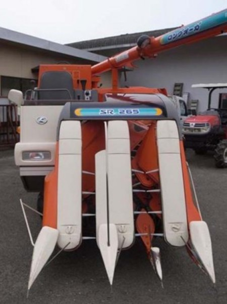 e2992【九州一部地域配送可能】KUBOTA クボタ P9506G/SR265 3条刈 コンバイン ディーゼルエンジン アワーメーター:354h