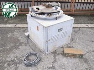 e3192 福岡機械 形式不明 鉄筋曲機 鉄筋ベンダー 200V