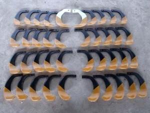 A19e3167【未使用品】NBC TIGER タイガー爪 40本セット S45:L19本R19本 S46B:L1本R1本 耕耘機 管理機