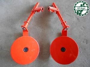 A23h2816 農機具部品 トラクターパーツ 尾輪 2コセット