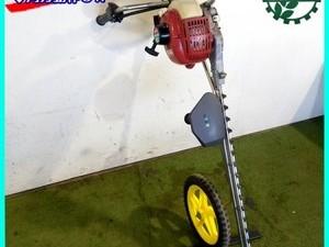 【販売済み】B4g202088 落合 TE7H 手押し式片面裾刈機 茶刈機 2サイクルエンジン