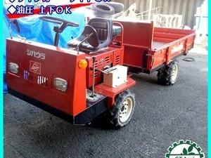 【販売済み】B6g202090 シバウラ SBK 1844DW 4輪 運搬車 最大500kg 油圧ダンプ セル【整備品/動画あり】