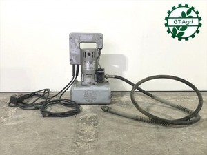A22g19817 理研精機 SMP-3SK 小型電動油圧ポンプ 可搬式 二段吐出型 単動シリンダ用 ■100V 50/60Hz 250W■ 【動作チ